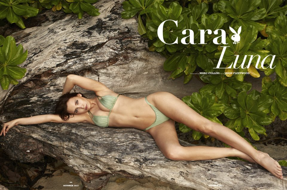 Cara Luna Cover Playboy Sweden